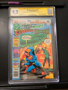 DC Comics Presents #26 1st App Teen Titans  CGC Signed 3x  Newsstand! HBO MAX!