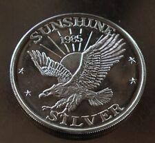 Sunshine Mining Silver 1985 Round 999 Fine #9618