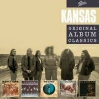 "KANSAS ""ORIGINAL ALBUM CLASSICS"" 5 CD BOX ROCK POP NEU"