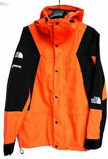 THE NORTH FACE X SUPREME MOUNTAIN LIGHT POWER ORANGE JACKET
