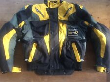Unisex Rev'it Motorcycle Jacket Textile Waterproof with protection size small