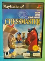 Chessmaster Chess  PS2 Playstation 2 COMPLETE Game 1 Owner FLAWLESS Mint Disc