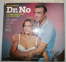DR. NO ~ 1963 UNITED ARTISTS UAL-4108 ~ JAMES BOND ~ SEAN CONNERY/URSULA ANDRESS
