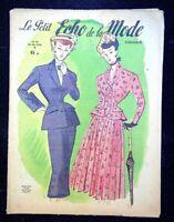 Le Petit Echo de la Mode année 1948, Ancien magazine Français N°22
