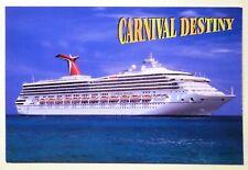 Carnival Destiny Cruise Lines Luxury Passenger Ship Ocean Liner Vessel Transport
