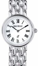 Ladies Sterling Silver Round Presentation Watch on Matching Solid Link Bracelet