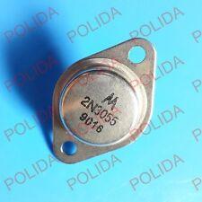 10PCS Transistor MOTOROLA/ON TO-3 2N3055 2N3055G 100% Genuine and New