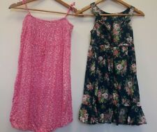 Two Floral Dresses Age 12-13 <J7799