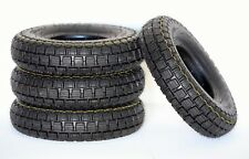 Set of (4) 4.10/3.50-6 Black Mobility Scooter Wheelchair Power Chair Tyres