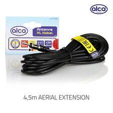 ALCA Alemania Coche Furgoneta Cable De Extensión De Antena Aérea Am Fm 4.5 Metro De Largo
