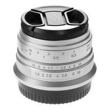 25mm F/1.8 Manual Focus Fixed Lens for Fuji X-mount  FX X-Pro1/2 XA2 X100F XT20
