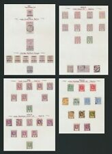 SIERRA LEONE STAMPS 1893-1910 QV & KEVII, 4 PAGES TO 2/- MINT OG & USED