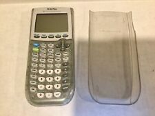 Texas Instruments Ti-84 Plus Graphing Calculator  - Clear Sparkle with Cover