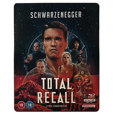 Total Recall 4k Ultra HD Blu-ray 30th Anniversary Steelbook RB