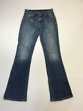 """Débardeur femme Levi 525 """"Bootcut"""" Jeans-W30 L34-Faded Bleu Marine Laver-très bon état"""