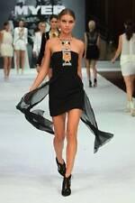 """BNWT SASS & BIDE """"Lucky 13""""  Bustier Embellished Harness Dress - Sz 6 - $790"""