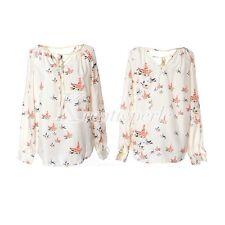 Damen-Blusen taillenlange Damenblusen, - tops & -shirts aus Chiffon