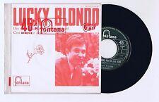 45 RPM SP JUKE BOX LUCKY BLONDO DES ROSES ROUGES POUR UN ANGE BLOND (1965)