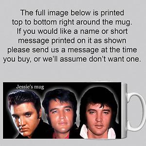 Elvis Presley -  Personalised Mug / Cup