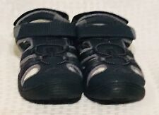 New SONOMA Wander Boys Sandals Navy Blue Youth Size 5