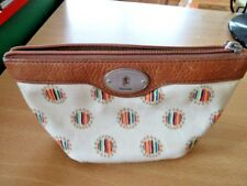 FOSSIL MAKEUP BAG/PURSE IN VGC