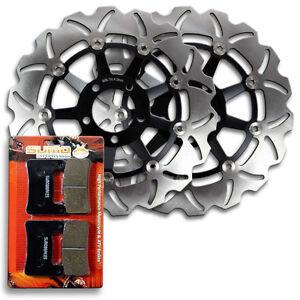 Front Brake Rotors + Pads for Suzuki GSXR600 & GSXR750 [04-05] GSX-R 1000 [2004]