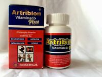 ARTRIBION VITAMINADO PLUS ORTIGA JOINT PAIN CURCUMA MSM SHARK CARTILAGE 30 CAPS