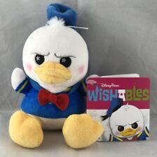 Disney Parks Wishables Donald Duck Plush Lr - New