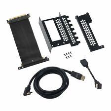 CableMod Vertical PCI-e Bracket - HDMI + DisplayPort - BLACK #C4318JB