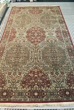 "5' 9"" x 9' Karastan Kirman 100% wool pattern Crimson 700-733"