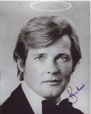 Roger Moore Signed Photo - The Saint - D693
