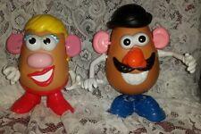 2010 HASBRO PLAYSKOOL Mr. & Mrs. Potato Head 13 & 12 Pc. Complete Sets