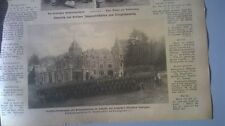 1914 102 Schloss des Ministers Davignon Belgien