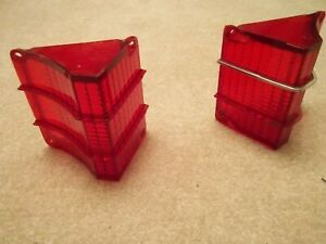 1967 Chevy Chevelle Deluxe 300 Malibu SS396 Tail Lights, Original!