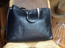 Free People Large Vegan Leather Tote Bag, Lap Top & Change Bag 3 Pieces
