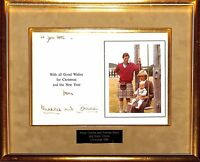 Charles and Diana inscribed 1983 Christmas card to Prince's fellow Navy officer
