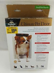 Pet Safe Ultimate Pet door - Small - For Pets up to 12 lbs- New Heavy Duty