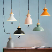 Kitchen Pendant Light Bedroom Ceiling Lights Wood Lamp Modern Pendant Lighting