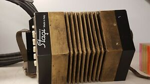 Stagi C/G Anglo Concertina 30 Key New Old Stock Made In Italy