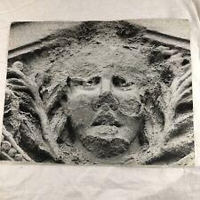 """FINE ART PHOTO VISUAL Art Ben Korngold B&W man face relief Photo14""""x11"""""""