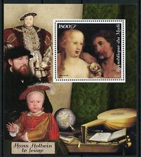 Mali 2018 MNH Hans Holbein the Younger 1v S/S Nudes Nude Art Paintings Stamps