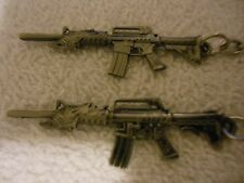 AR 15 - Assault - Rifle**Keychain***Lot-of-2**Free  Shipping*