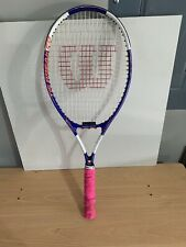 Wilson Titanium Impact Tennis Racquet Soft Shock Power Bridge