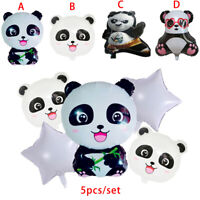 Cartoon Panda Foil Balloons Inflatable Animal Toys For Kids Outdoor Party G_AU