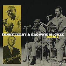 Sonny Terry & Brownie McGhee Story BOX SET Best Of 94 Blues Songs NEW 4 CD