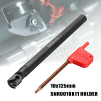 SNR0010K11 Internal Lathe Threading Boring Bar Turning Tool Holder + Wrench