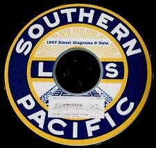Southern Pacific 1957 Diesel Locomotive Diagrams & Data PDF Pages  DVD