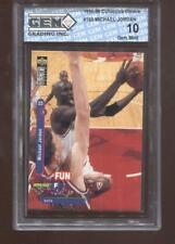 Michael Jordan 1995-96 UD Collectors Choice #169 Chicago Bulls GEM MINT 10