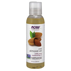 NOW Solutions, Sweet Almond Oil, 100% Pure Moisturizing Oil, Promotes Skin, Oil,