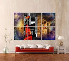 africa abstrakt 668 leinwand bild kunstdruck afrika wandbild leinwandbild xxxl - Bilder Furs Wohnzimmer Leinwand